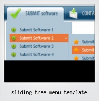 Sliding Tree Menu Template
