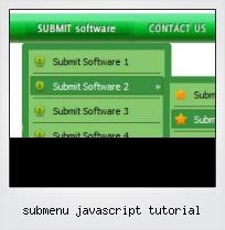 Submenu Javascript Tutorial
