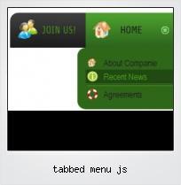 Tabbed Menu Js