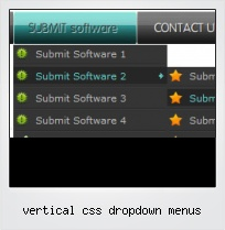 Vertical Css Dropdown Menus