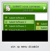 Win Xp Menu Disable
