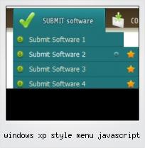 Windows Xp Style Menu Javascript