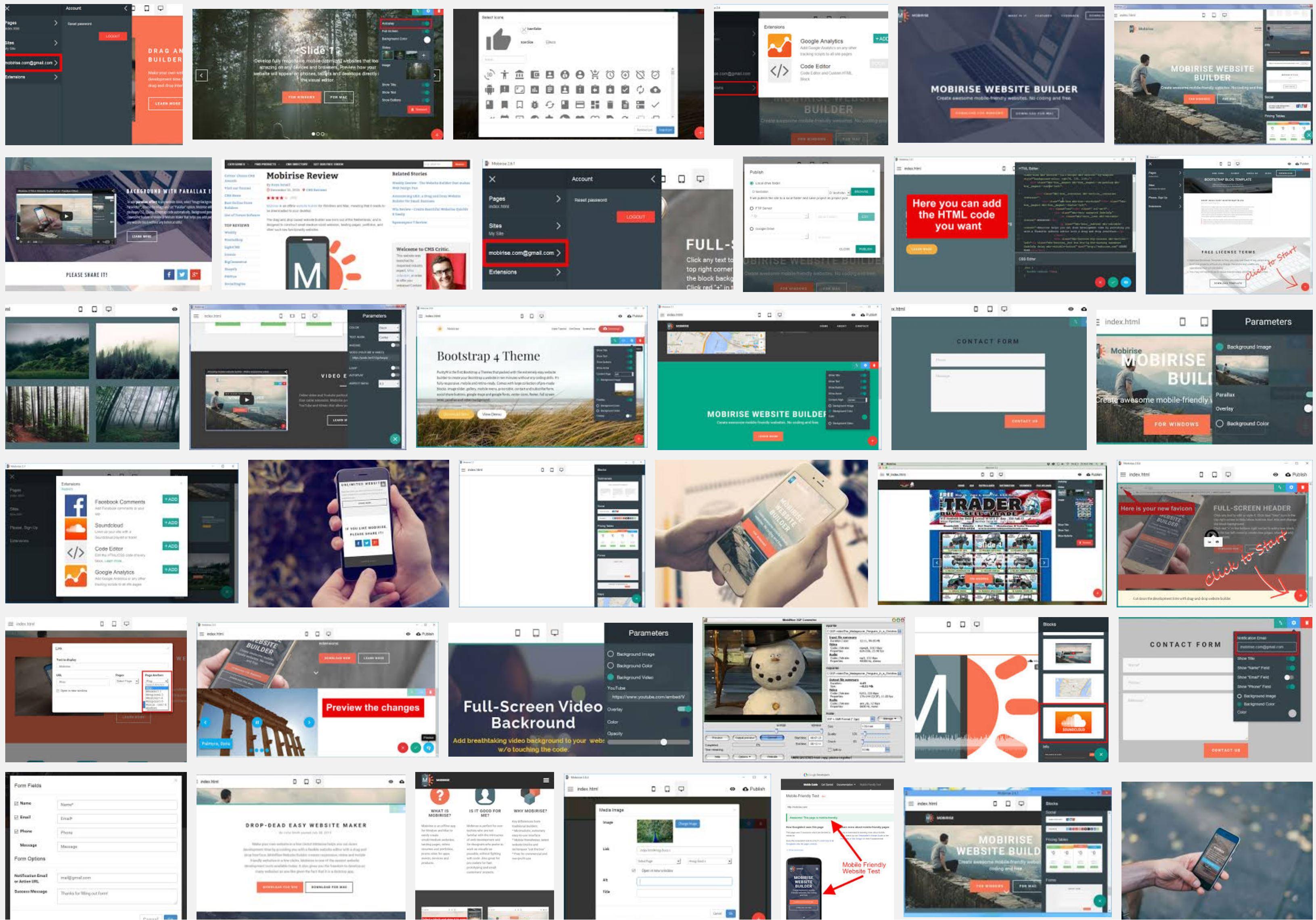 bootstrap web builder