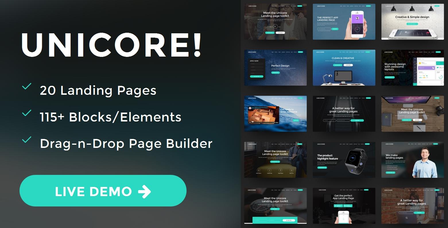 Premium Bootstrap Dark Theme Template