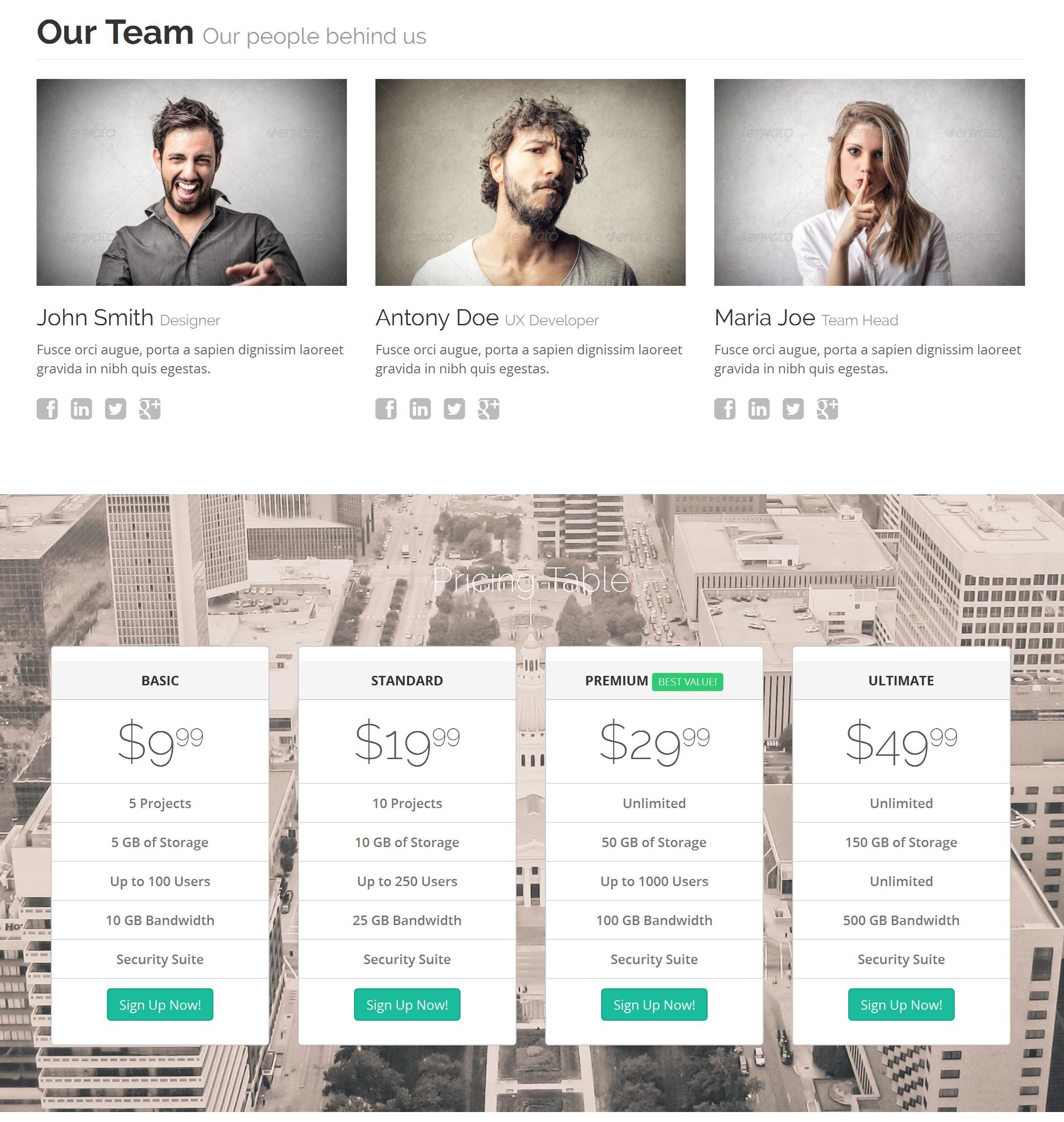 Free Bootstrap Blank Theme