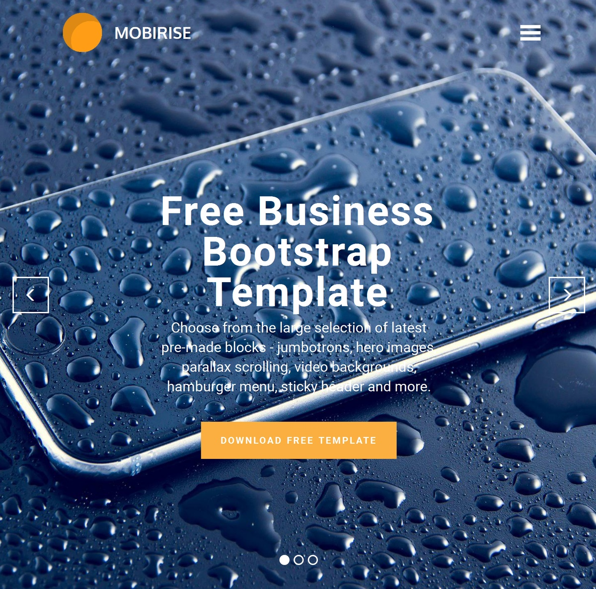 HTML5 Responsive Site Templates Themes Extensions
