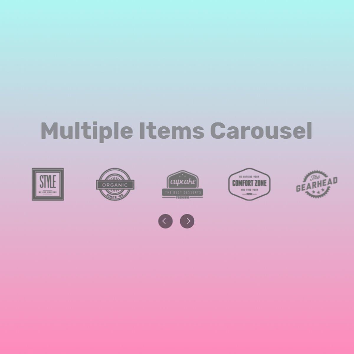 Mobile Bootstrap Illustration Slideshow