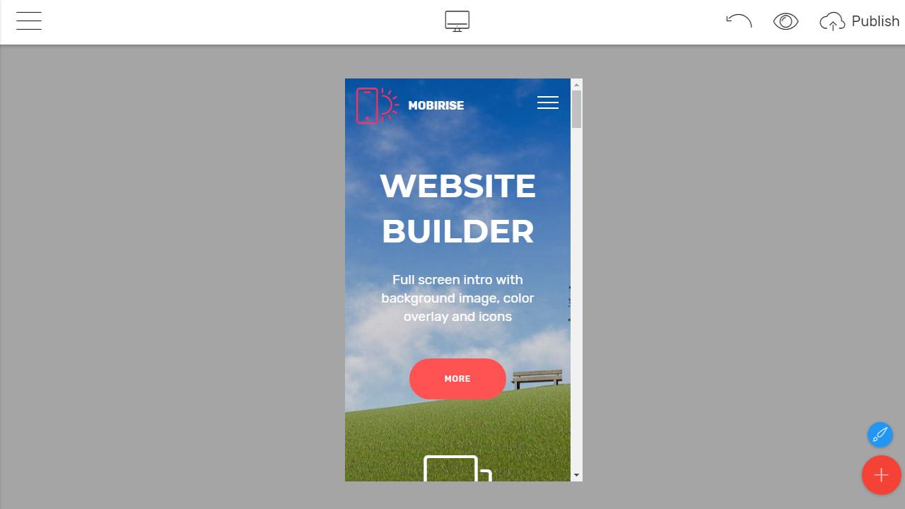Offline Web Page Builder