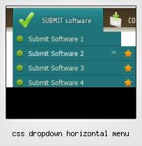 Css Dropdown Horizontal Menu