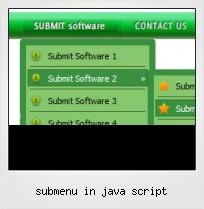 Submenu In Java Script