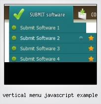 Vertical Menu Javascript Example